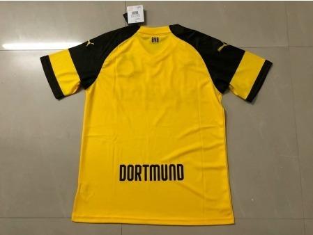 Camisa Borussia Dortmund Home 2018 19 - R  180 fa78943a351e2