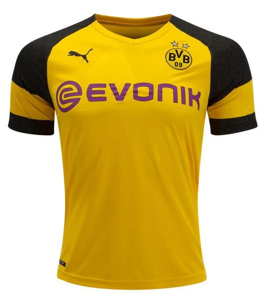 bf41fa262 Camisa Borussia Dortmund Puma 2018-19 Evonik - Frete Gratis - R  170 ...