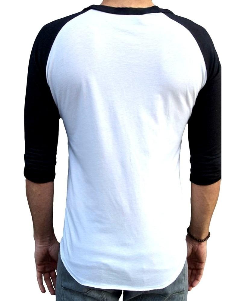 8ad5df2051 Camisa Boston Celtics Raglan 3/4 Camiseta Rock - R$ 34,90 em Mercado ...