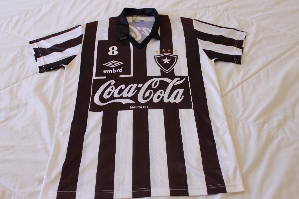 camisa-botafogo-1992-usada-em-jogo-umbro