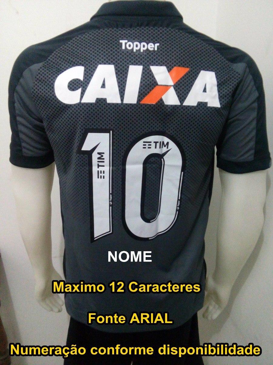 camisa botafogo 2017-18 supporter torcedor personalizada. Carregando zoom. f3dfc3e17f3c1