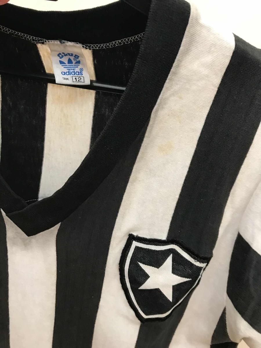 camisa botafogo adidas  9 1979 antiga rara usada em jogo. Carregando zoom. 1c50511c144e4