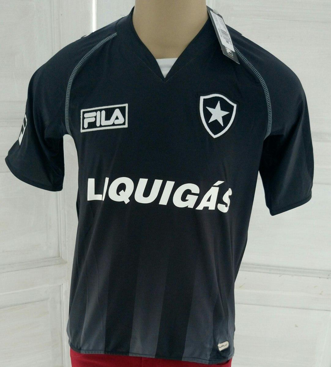 Camisa Botafogo Fila Ii 2009 2010 N 7 - R  80 7dc10c63d83e4