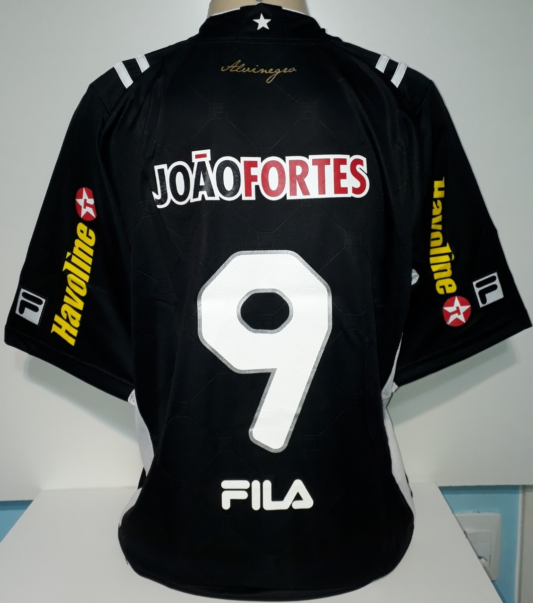 Camisa Botafogo Fila Preta Ano 2011 Nova Etiquetas - 19 - R  189 e2b88952616d8