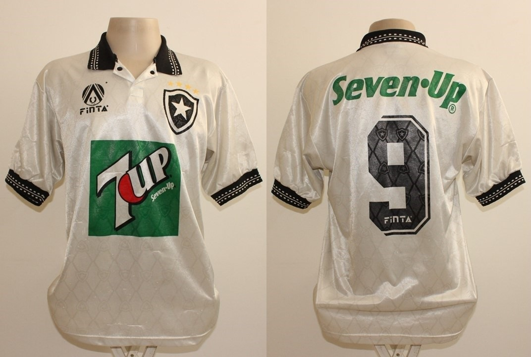 fac66b5fab1c8 Camisa Botafogo Finta 7up 1995  9 - De Jogo - R  299