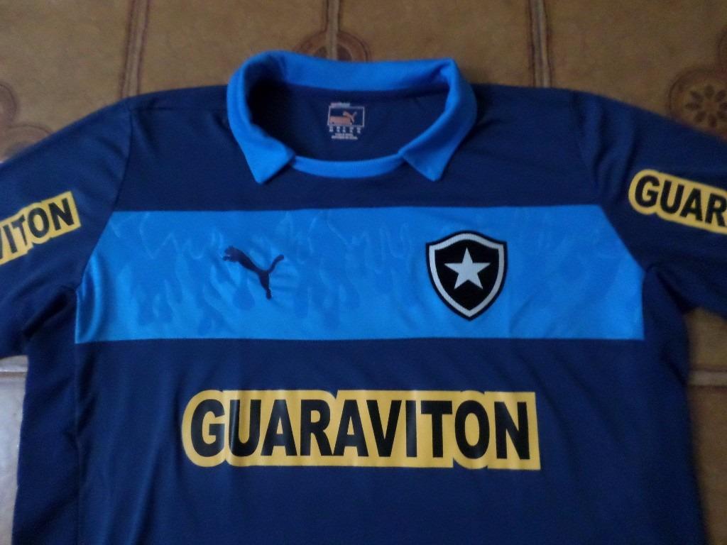 camisa botafogo goleiro azul jogo 1 jefferson gg. Carregando zoom. 0e0b21e4baa42