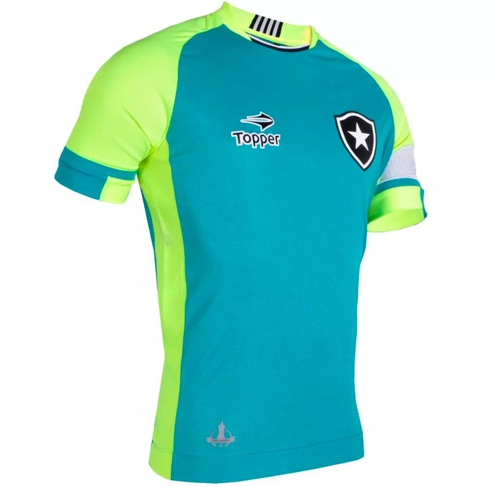 camisa botafogo goleiro jefferson 2016 topper. Carregando zoom. dd5d74212a8ad