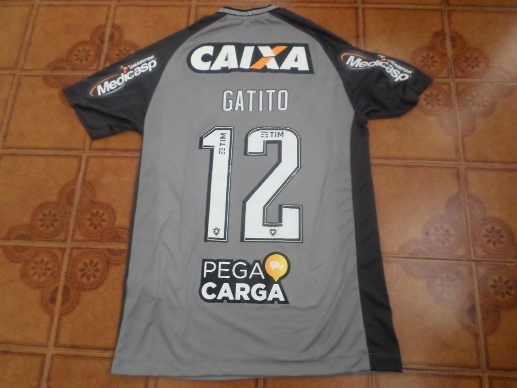 camisa botafogo goleiro jogo sulamericana 12 gatito g. Carregando zoom. 71bd04d3c7fbe