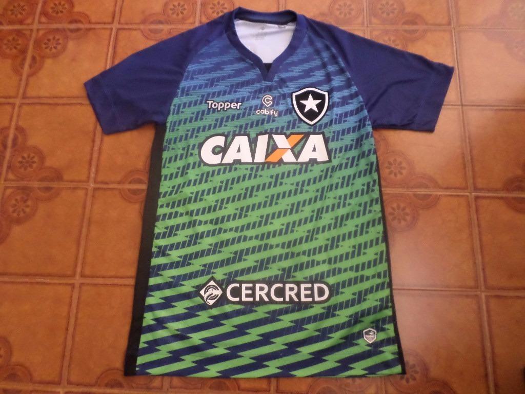 eb8412240c camisa botafogo goleiro jogo x flamengo 12 g. Carregando zoom.