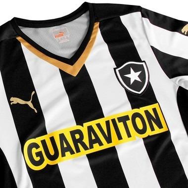 e4c9055db9a8d Camisa Botafogo Jogo I Com Patrocínio 2014 Puma - Original - R  49 ...