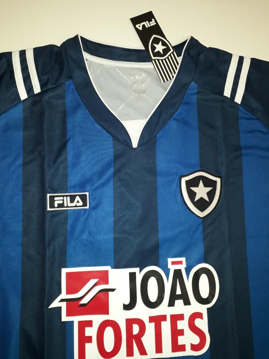 camisa botafogo loco abreu azul original fila 2011 - lk. Carregando zoom. 76ec8a3cc313c