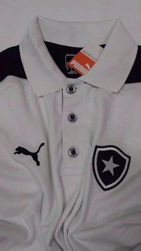 Camisa Botafogo Nova Puma Polo Viagem Oficial 2013 2014 - R  79 4707a8655662a