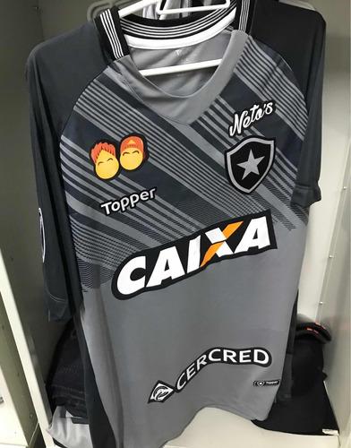 camisa botafogo oficial de jogo sul americana