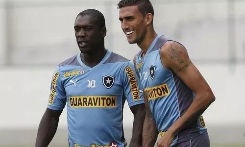 8cd7f624b2 Camisa Botafogo Oficial Puma Azul 2014 Treino C  Nota Fiscal - R  91 ...