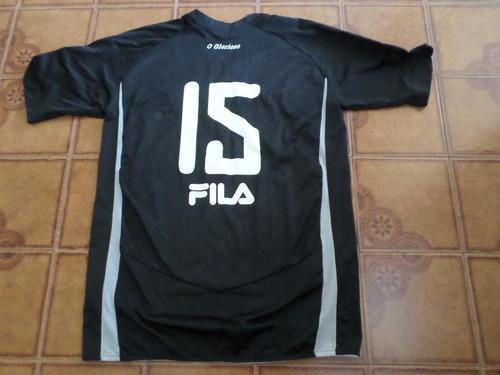 camisa   botafogo   preta   jogo   numero  15    tamanho   g