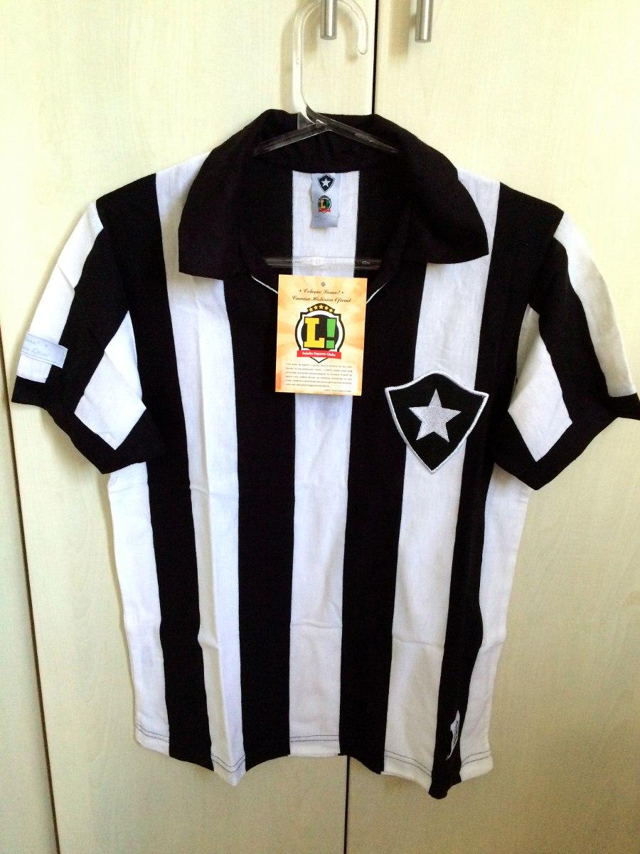6551c6a6d8 Camisa Botafogo Retrô Lance - Nova Com Etiqueta - Tam. Pp - R  100 ...