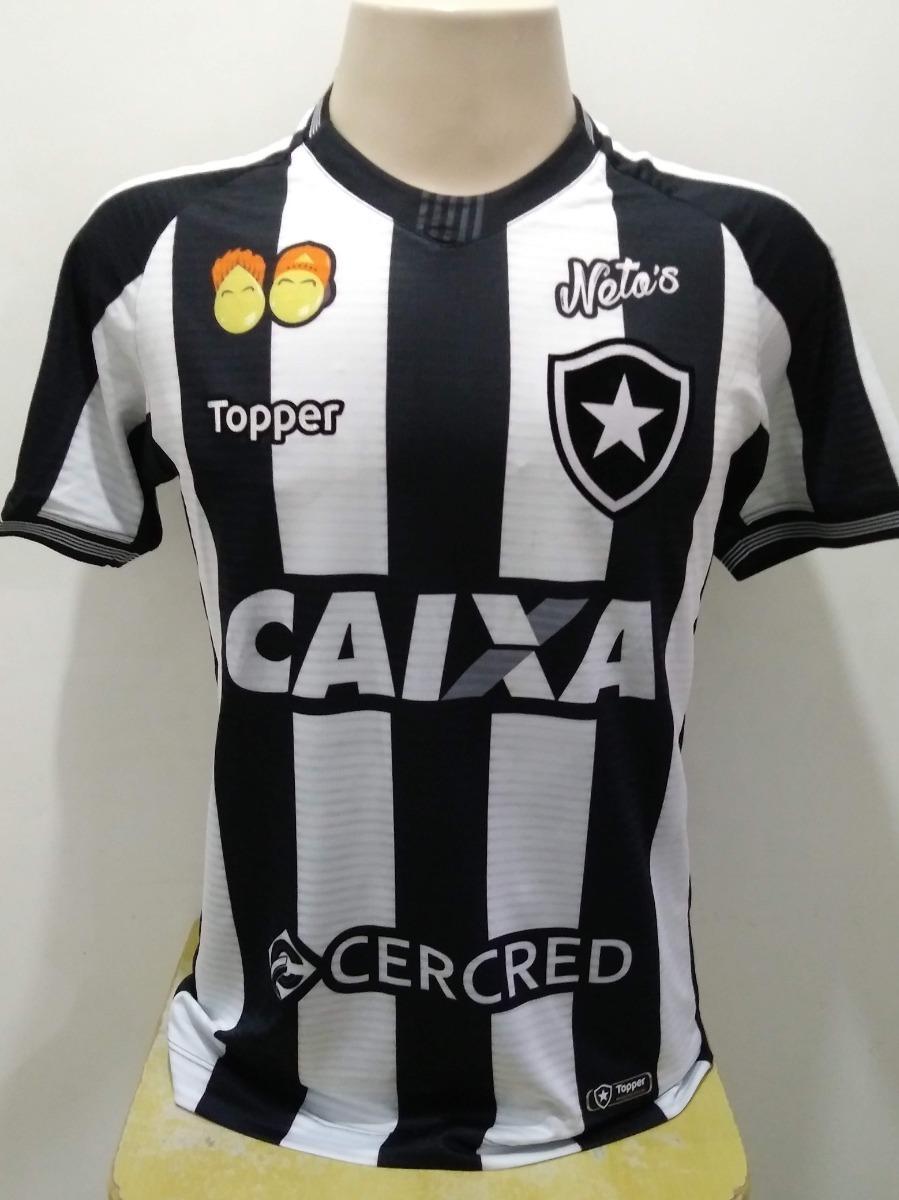 a7a9f3463c31d Camisa Botafogo Sulamericana 2018 - Leo Valencia - R  375