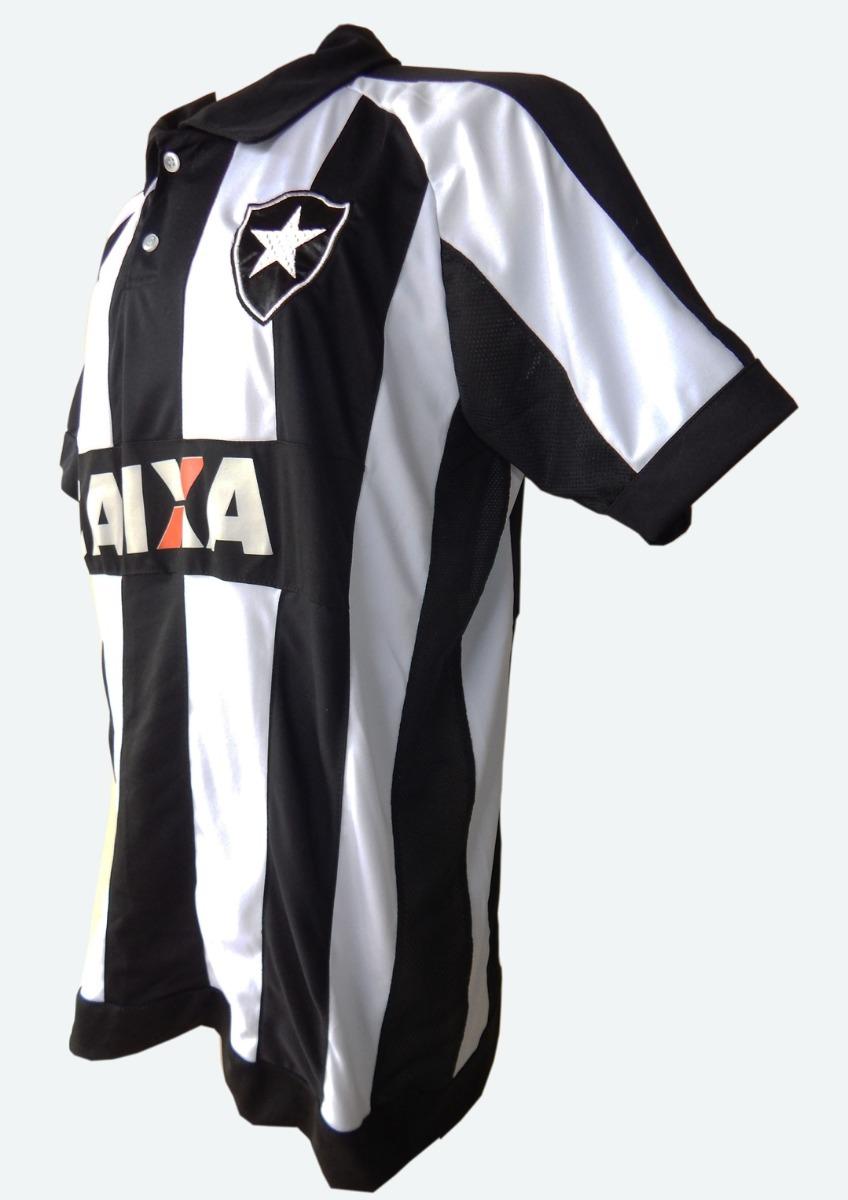 camisa botafogo topper listrada preta e branca 2017 oferta. Carregando zoom. 550a6437beeae
