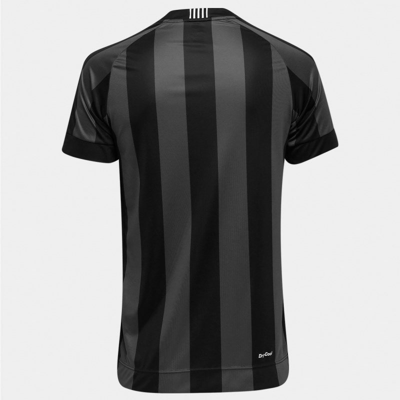 camisa botafogo topper oficial 2 4137517 - preto e chumbo. Carregando zoom. c9ce6a3a2bada