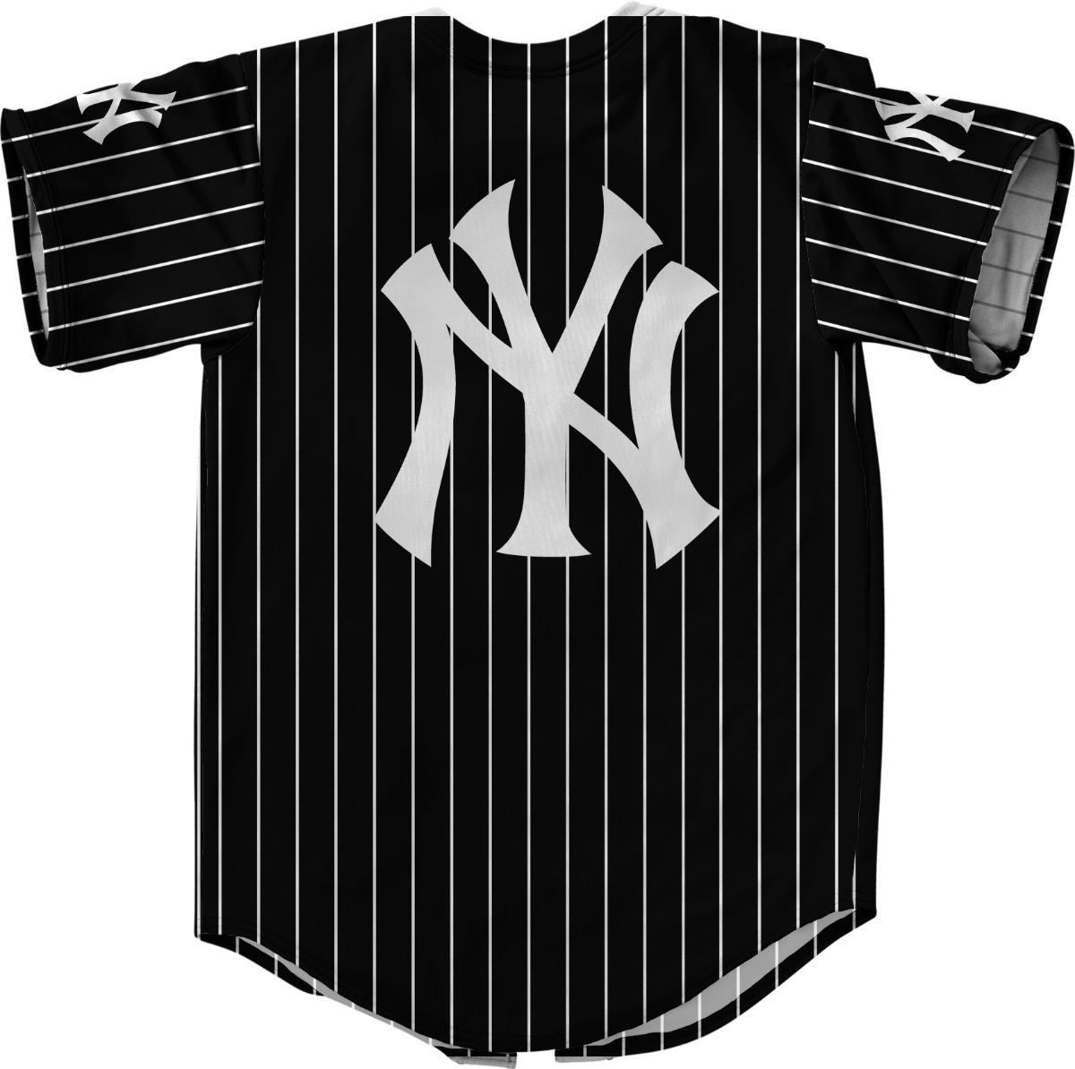 camisa botão jersey baseball new york liga americana. Carregando zoom. e8b35246370