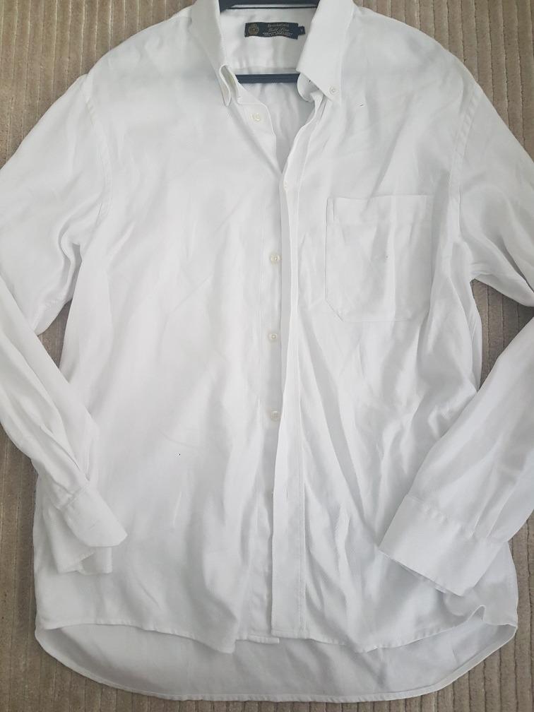 d6a3db71198 camisa branca brooksfield gold line tamanho 5 perfeito estad. Carregando  zoom.