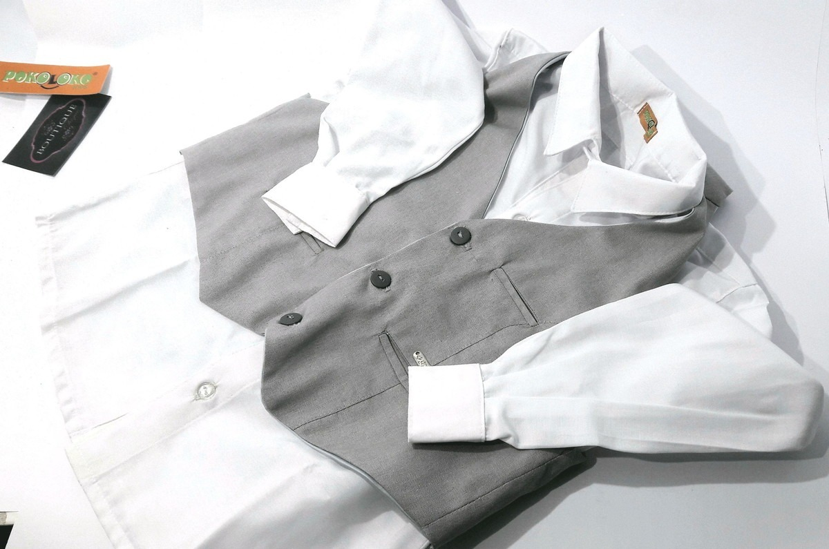 31d26eeed8 camisa branca e colete social infantil masculino. Carregando zoom.