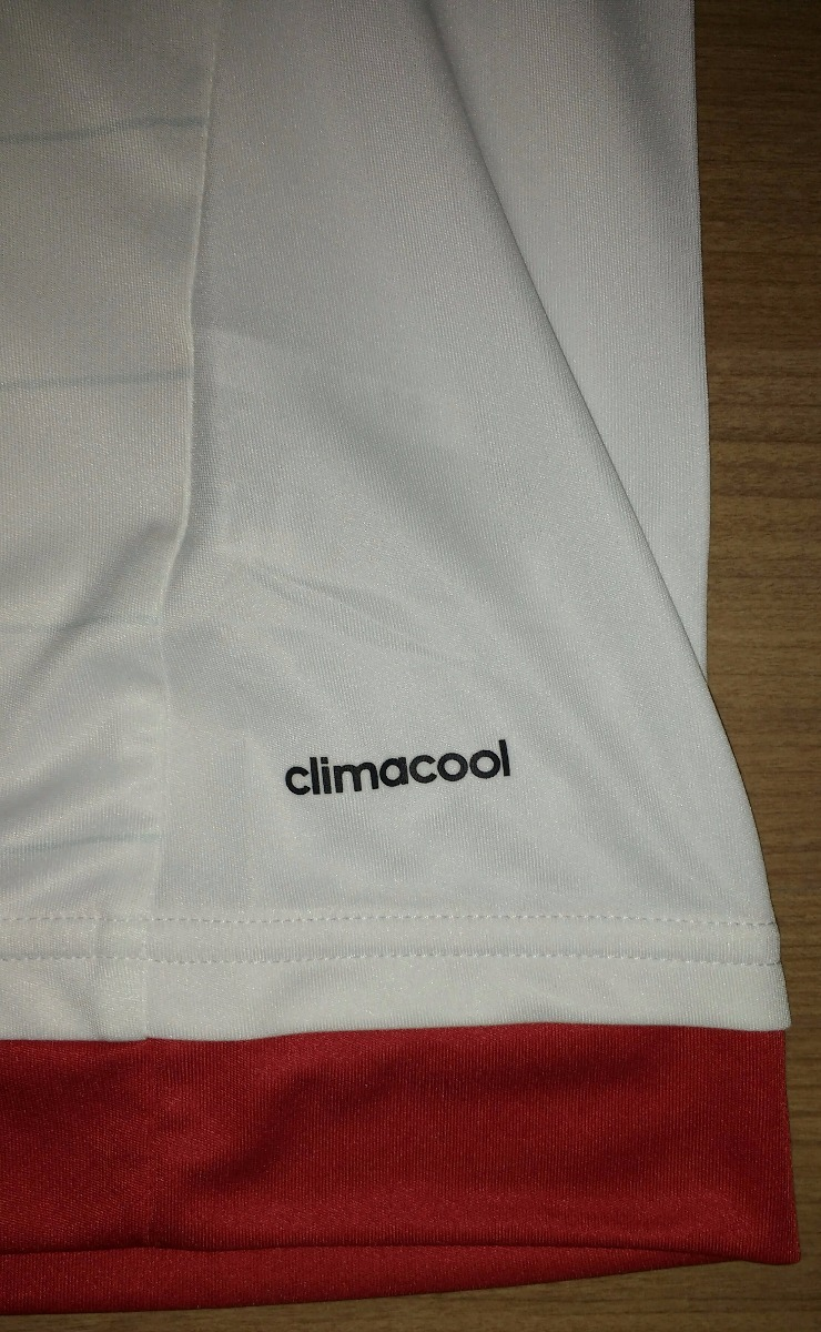312ea189f0c7a camisa branca flamengo 2015   2016 original 100% adidas - 20. Carregando  zoom.
