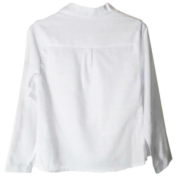 799fa21c0f Camisa Branca Infantil Oliver Mini 100% Algodão - R  164