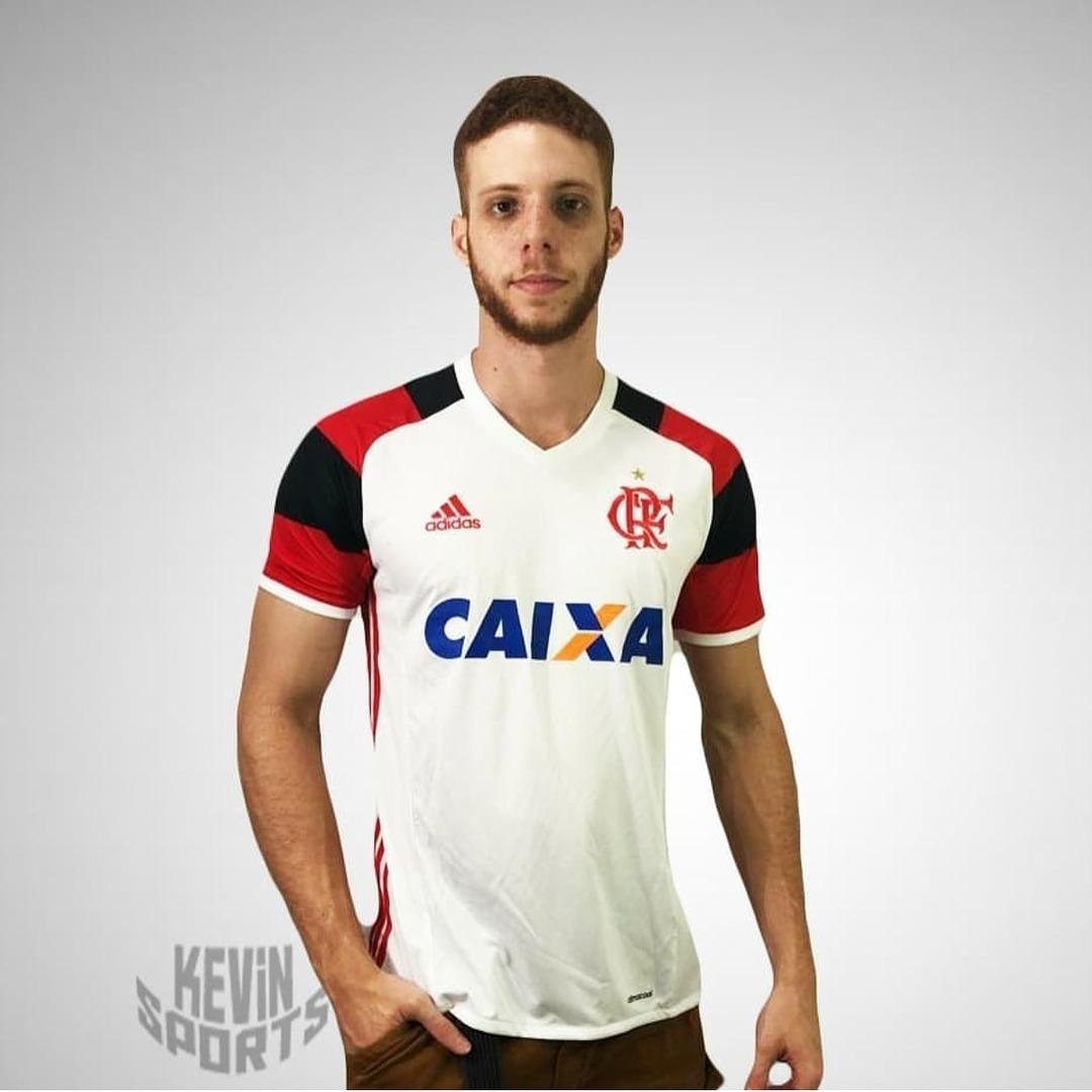 f439e3fdd6 Camisa Branca Original Flamengo adidas 2016 - R$ 160,00 em Mercado Livre