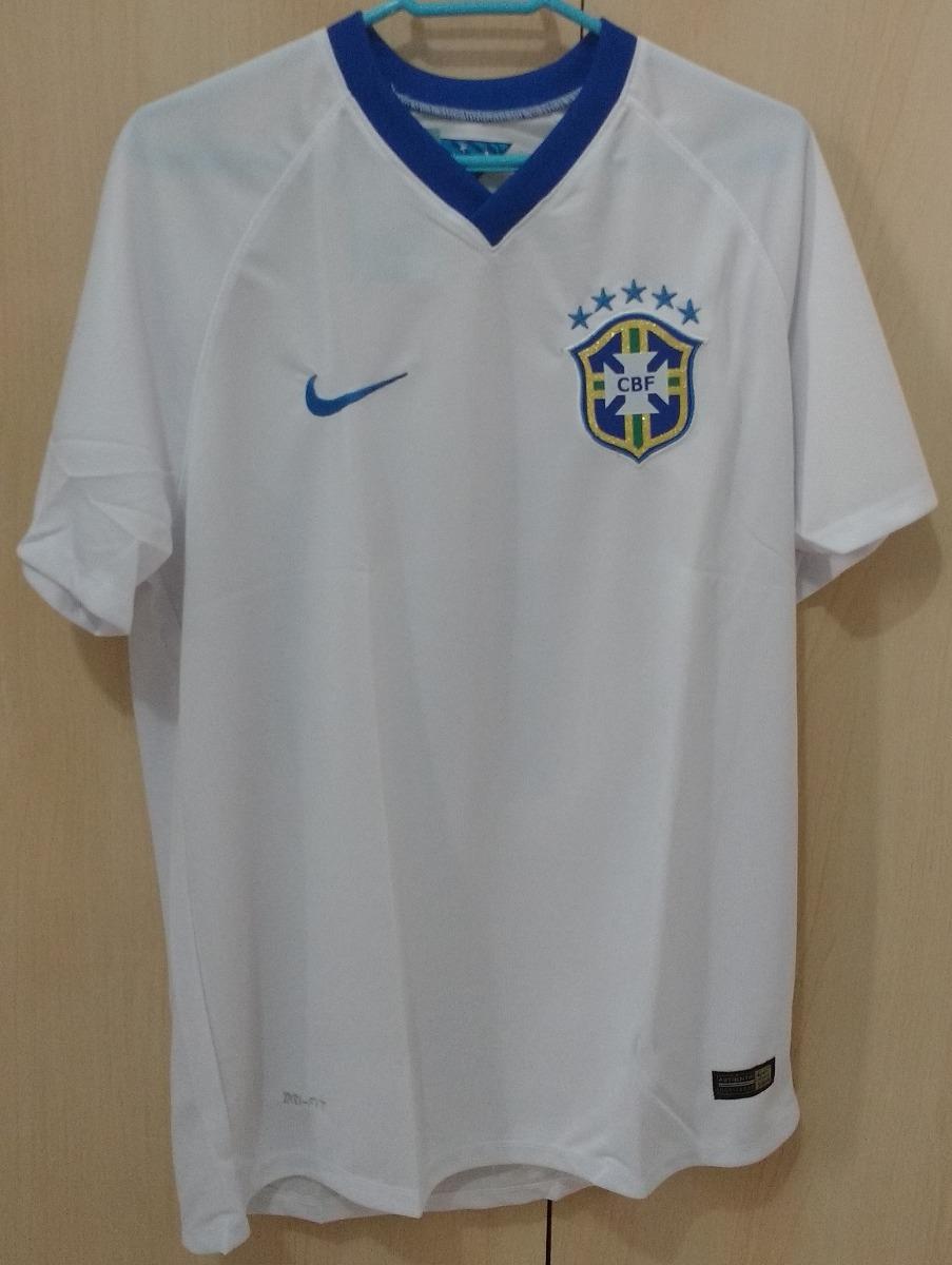 camisa branca seleção brasileira  10. Carregando zoom. 0222f927755cc