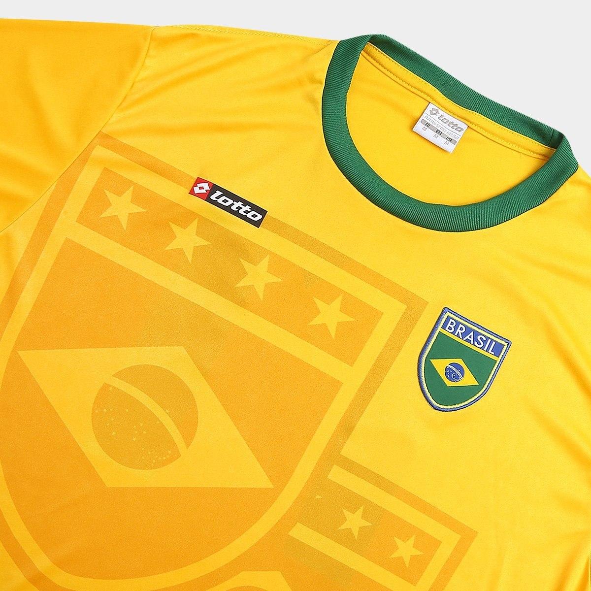 dfda73b3592dc camisa brasil 1994 n° 11 lotto - lançamento. Carregando zoom.