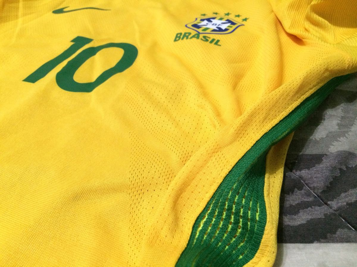 camisa brasil 2016 nike aeroswift home jogador  10 neymar g. Carregando zoom . 1659d7baba93c