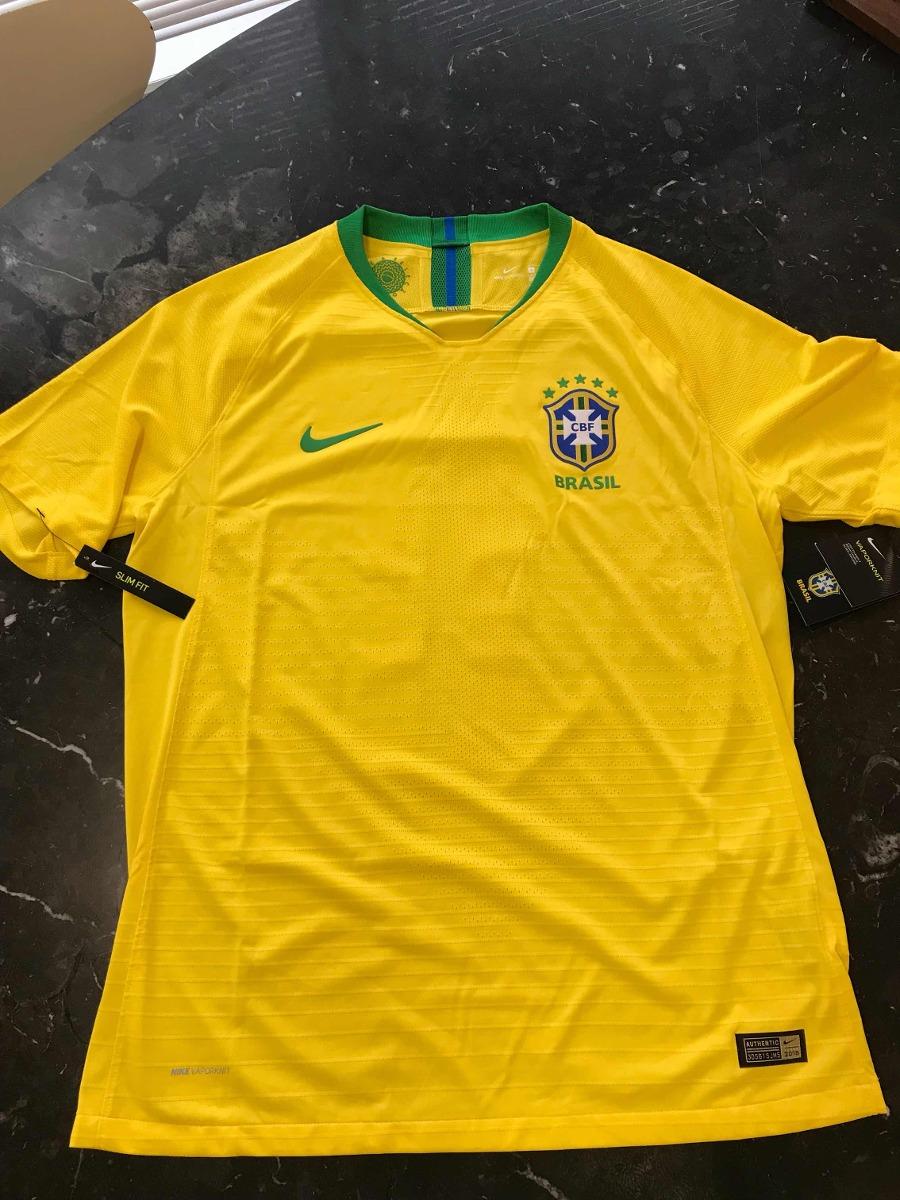 camisa brasil 2018 jogador -p. coutinho - 11 - nike vapornit. Carregando  zoom. 8f7935d16bb3c