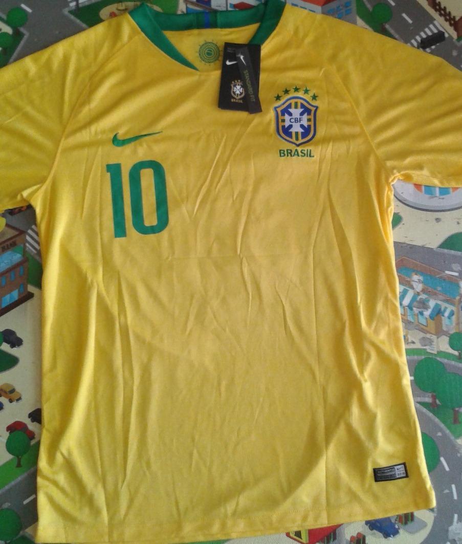 4558f2337190c camisa brasil 2018 neymar jr. oficial copa 18 pronta entrega. Carregando  zoom.