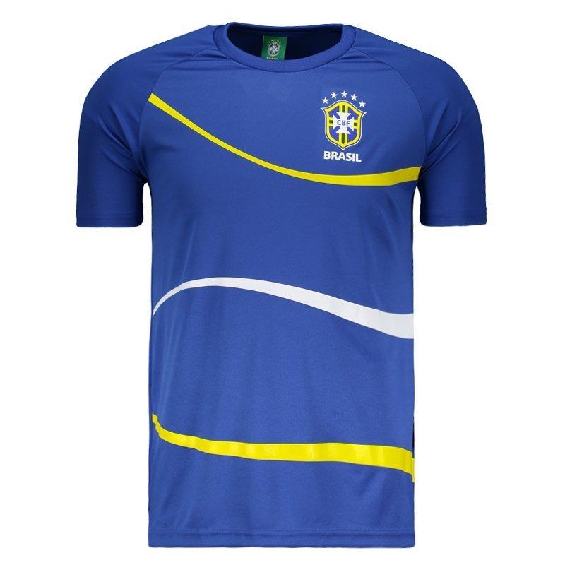 1f7683bac6 camisa brasil cbf big waves royal. Carregando zoom.