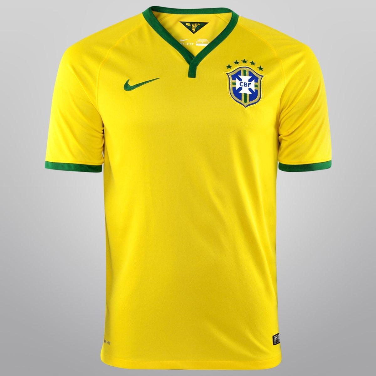 Camisa Brasil Cbf - Nike  cabdbb9ea289e