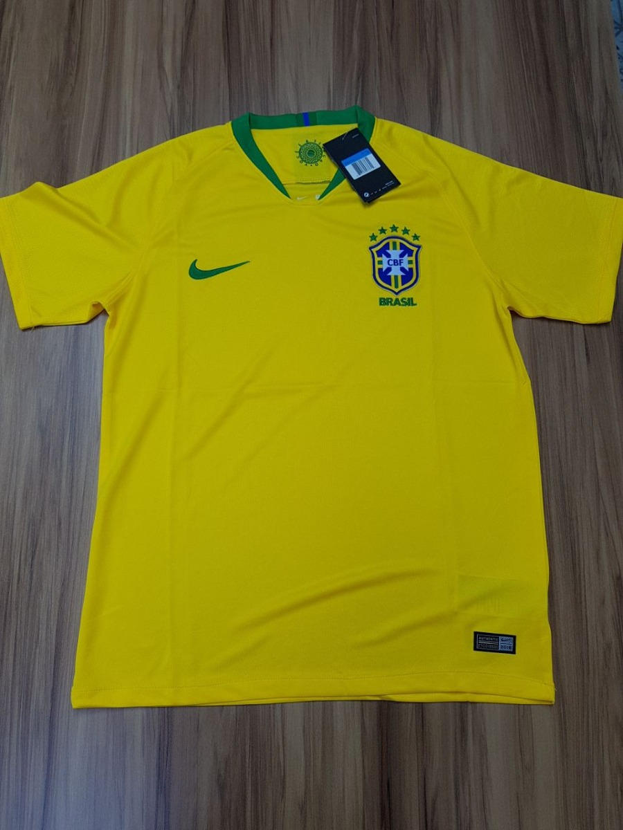 Camisa Brasil Copa 2018 5dde1f589713c