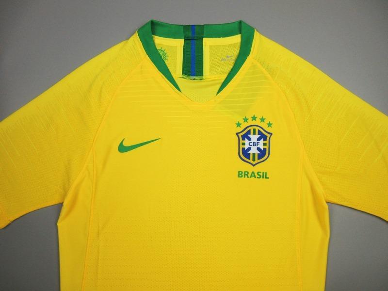 d795f994f9 camisa brasil copa 2018 jogador - p entrega s jrs. Carregando zoom.