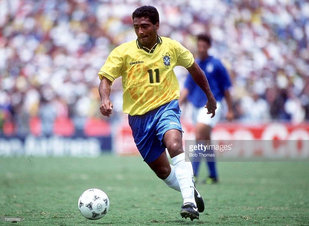 22afe2166b camisa brasil copa do mundo 1994 romario 11. Carregando zoom.