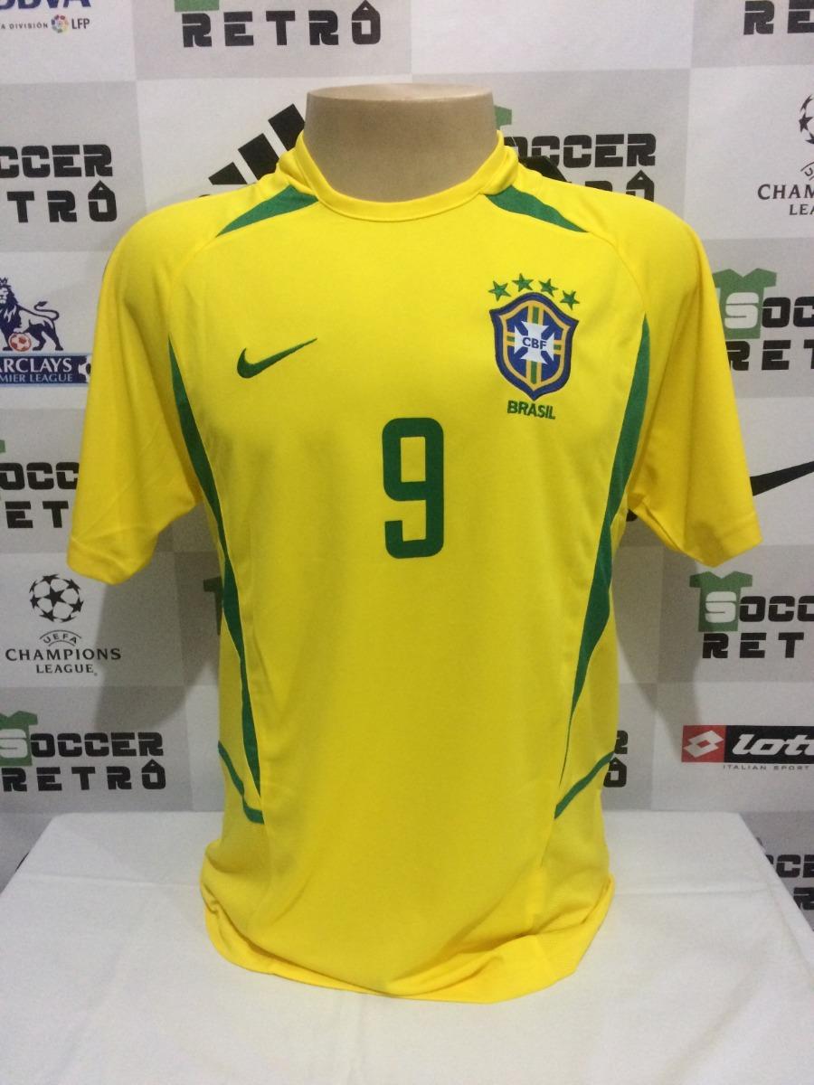 cd4ed3fb9c66c camisa brasil copa do mundo 2002 ronaldo 9. Carregando zoom.