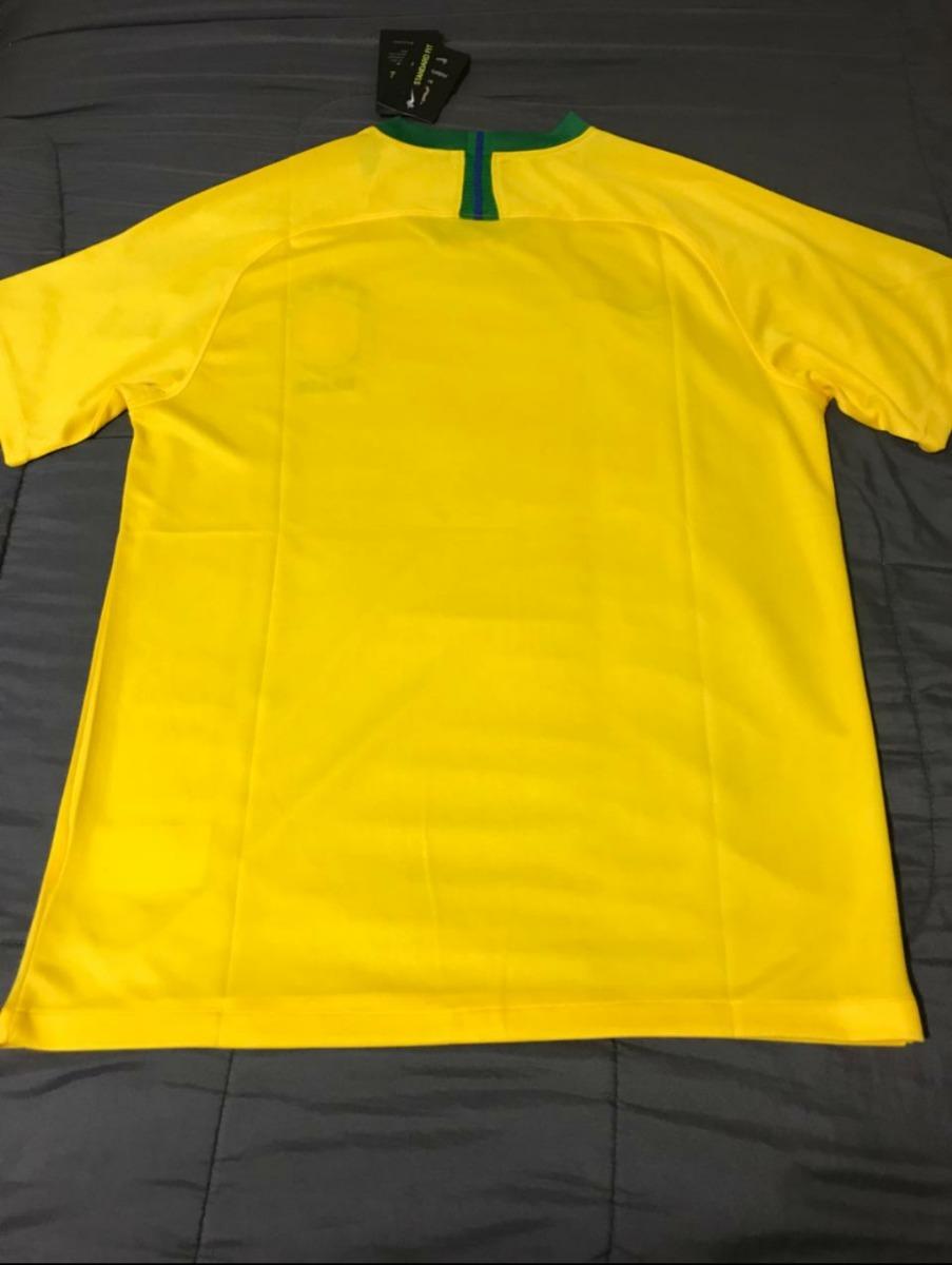 camisa brasil copa do mundo 2018 100% original. Carregando zoom. 7fca9b2e97276