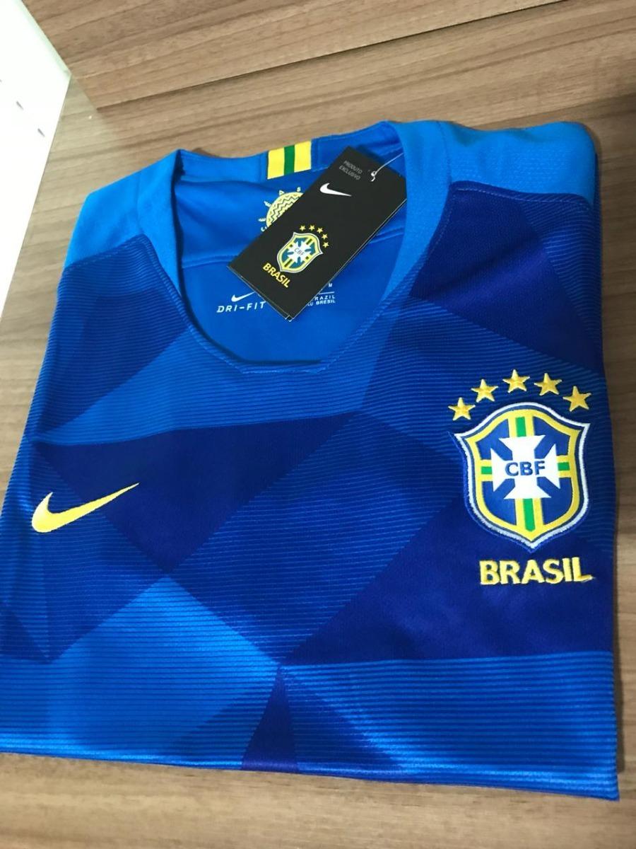 b5e44dda94 camisa brasil copa do mundo 2018 100% original feminina. Carregando zoom.