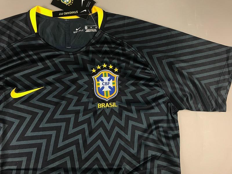 c7a15b952e8c8 camisa brasil copa russia 2018 modelo treino seleção nike. Carregando zoom.
