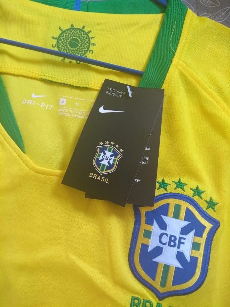 4cb0b0718e921 camisa brasil copa russia 2018 seleção brasileira feminina. Carregando zoom.