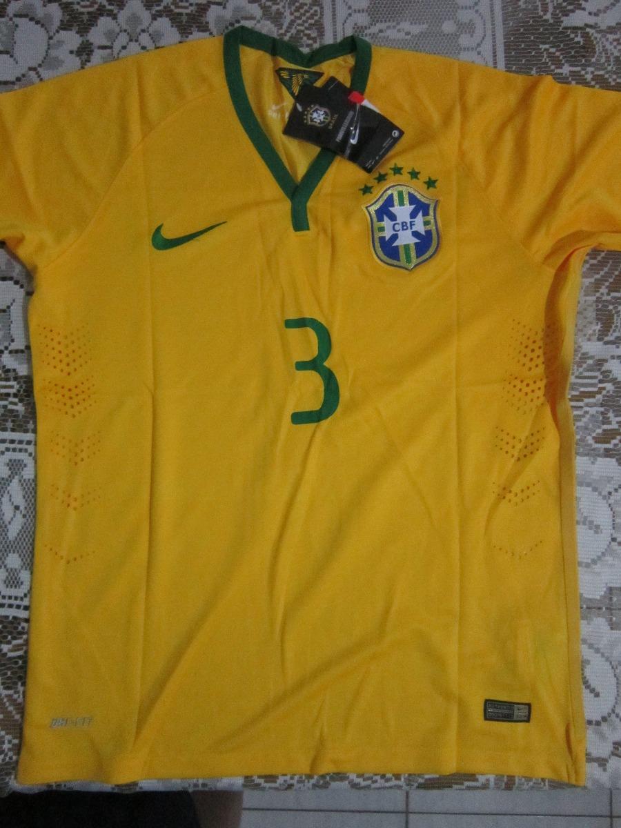 camisa brasil copa tiago silva nova. Carregando zoom. 7f1e34defbae9