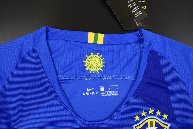186da3d4ff camisa brasil feminina azul - copa do mundo 2018. Carregando zoom.