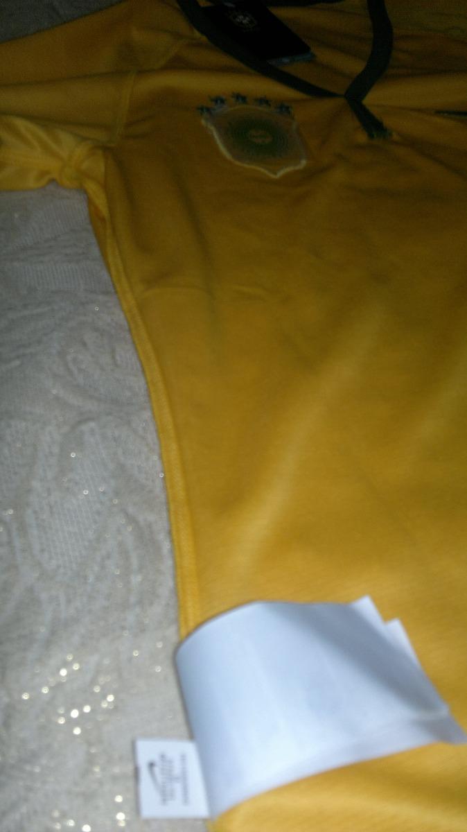 camisa brasil feminina - nike 2014 - baby-look. Carregando zoom. 0d2f75efad134