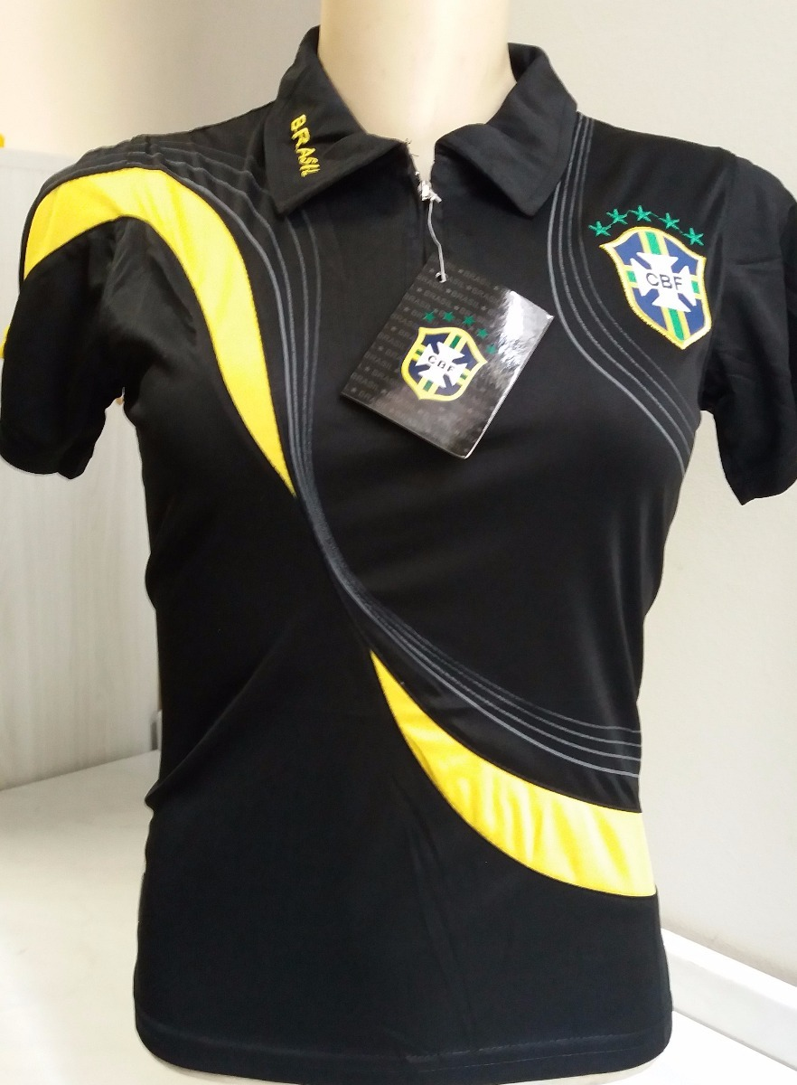 6199d29afa camisa brasil feminina passeio copa 2018. Carregando zoom.