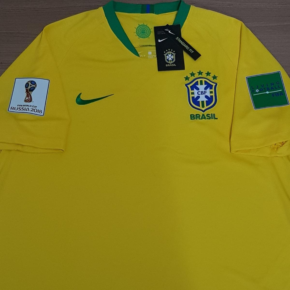 7cbcaa187e2de Camisa Brasil Home 2018 Standerfit Original Pronta Entrega - R  69 ...