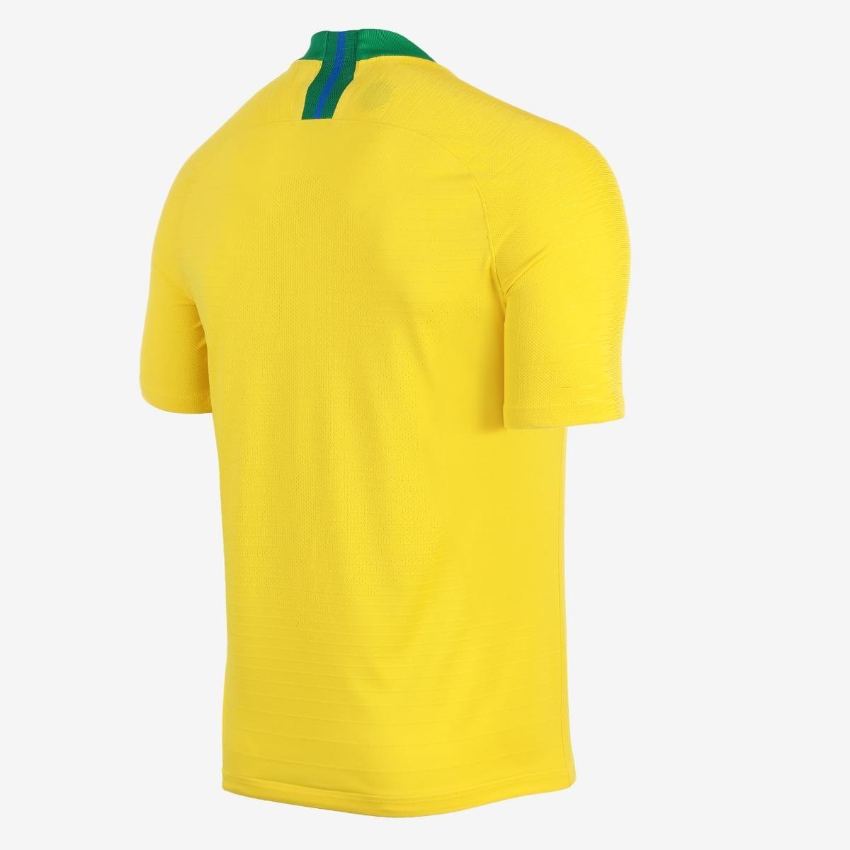 camisa nike brasil i 2018 19 torcedor masculina. Carregando zoom... camisa  brasil masculina. Carregando zoom. 2c32018540355